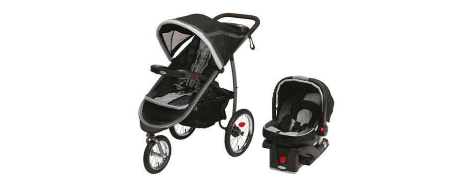 Graco Fastaction Car Seat Stroller Combo
