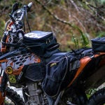 Nelson Rigg Black Holds Motorcycle Tank Bag