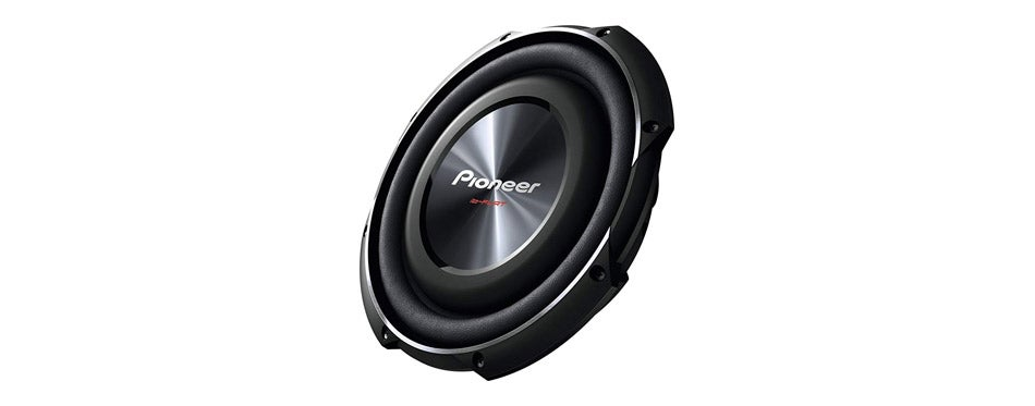 PIONEER TS SW2502S4 Shallow Mount Subwoofer