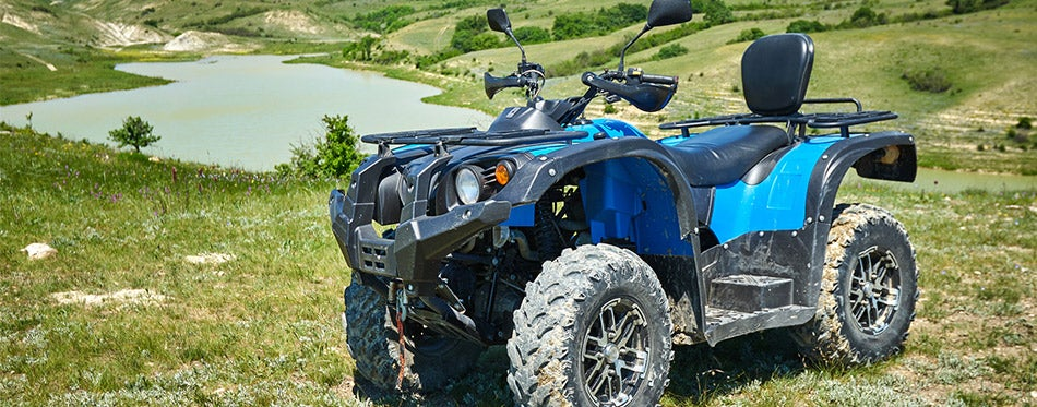Quad Bike in the mountains