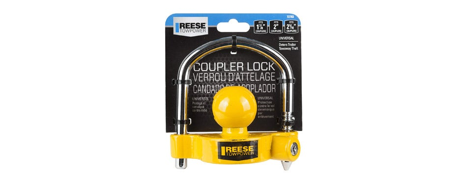 REESE Towpower Universal Trailer Hitch Lock