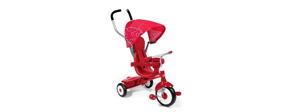Radio Flyer 4-in-1 Stroll Toddler Tricycle