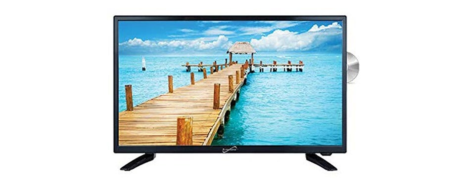 Supersonic LED Widescreen Camper TV