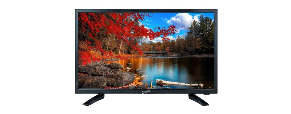 Supersonic LED Widescreen TV for RV Use
