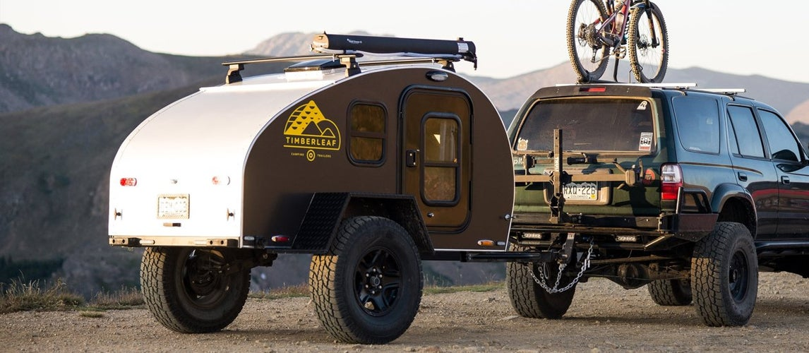Off Road Trailer Out in the Nature