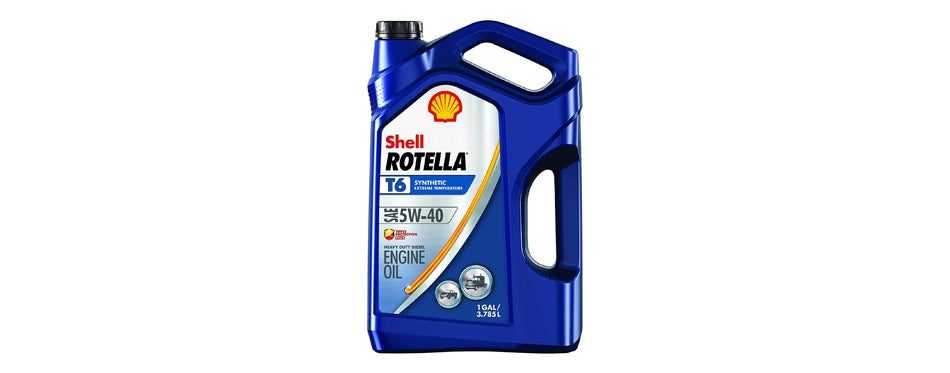 Shell Rotella T Synthetic Motor Oi