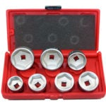 ABN Oil Filter Cap Wrench Socket Set Tool Kit