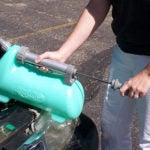 Air Power America Green Large Oil Extractor