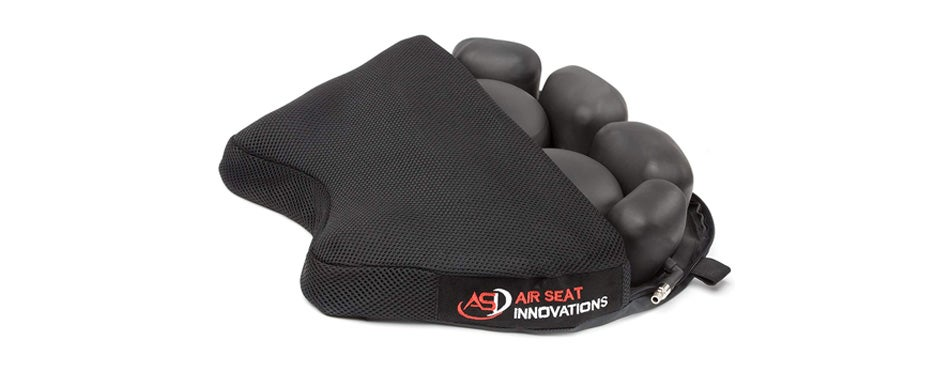 Air Seat Innovations Air Pressure Relief Motorcycle Seat Pad
