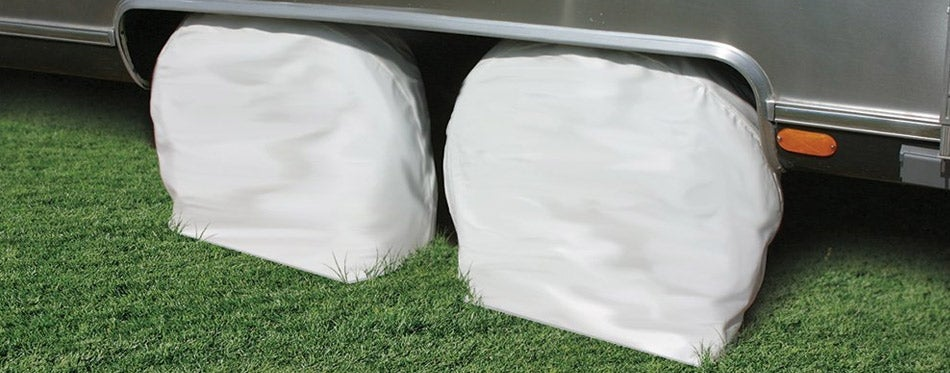 Camco 45323 Vinyl RV Tire Covers