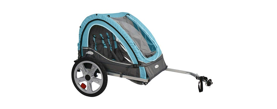 InStep Double Seat Foldable Tow Behind Bike Trailers