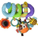 Infantino Spiral Activity Car Seat Toy