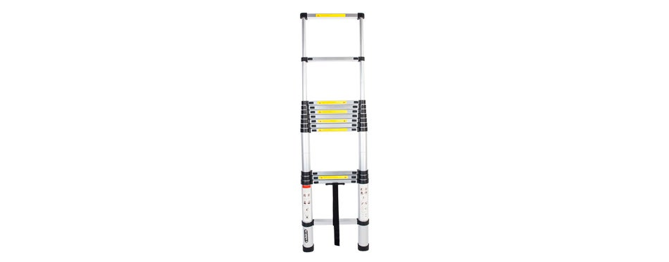 Luisladders Oshion Aluminum Telescoping Extension Ladder