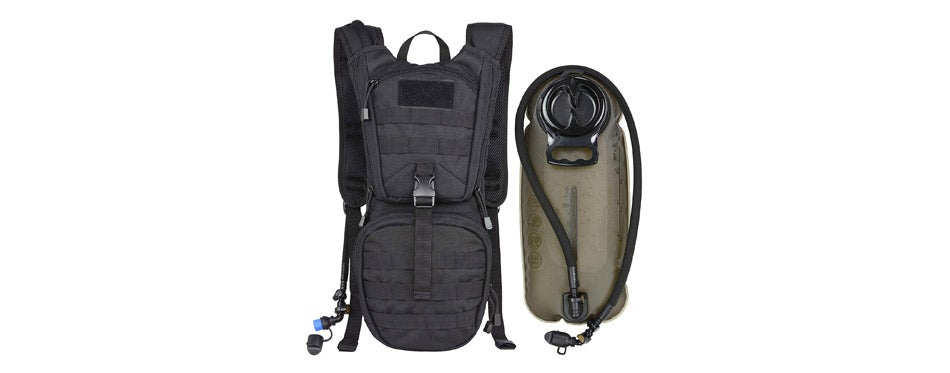 MARCHWAY Tactical Molle Hydration Bike Backpack