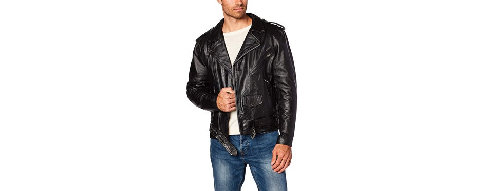 Milwaukee Leather Men's Classic Motorcycle Jacket