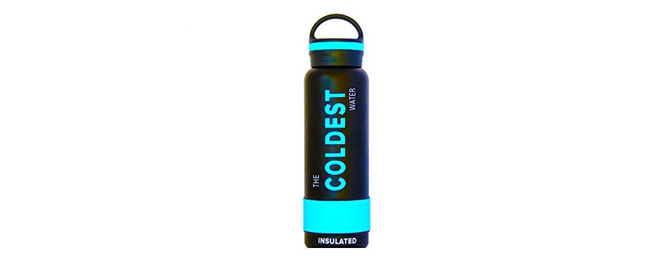 The Coldest Water Vacuum Cycling Water Bottle
