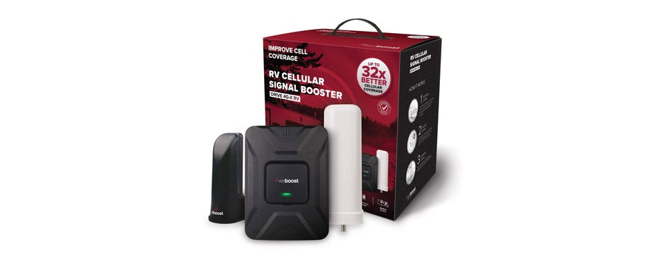 weBoost Drive 4G-X RV Cell Phone Booster