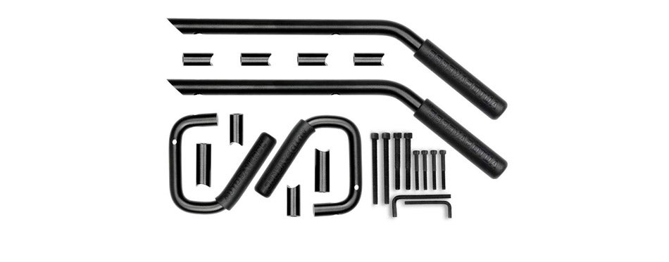 AUTOSAVER88 Front and Rear Jeep Wrangler Grab Bars