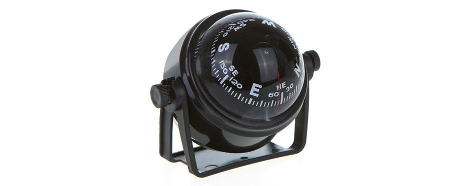 COOLBUY PARK LED Light Pivoting Compass for Car