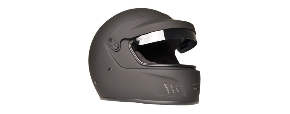 Conquer Full Face Rally Racing Helme
