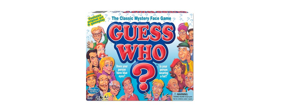 Guess Who? Travel Board Game