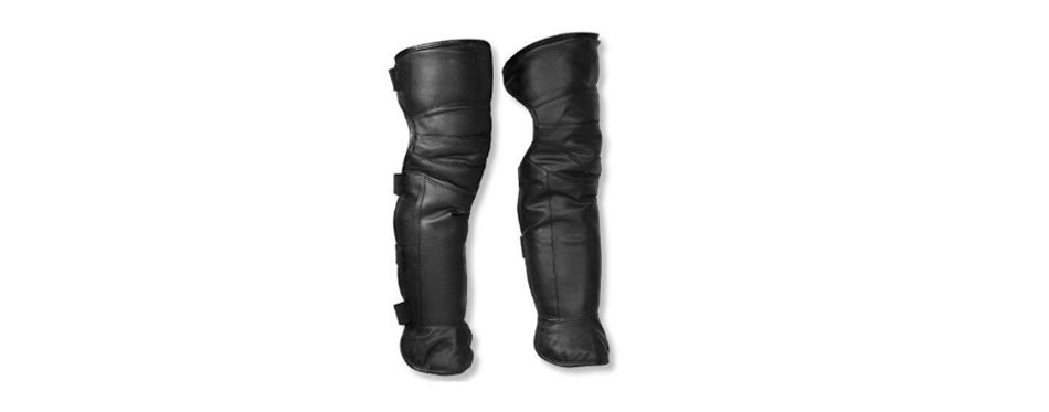 JJLHIF Double Layer Motorcycle Chaps