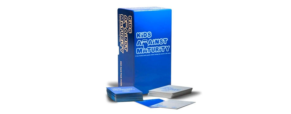 Kids Against Maturity: A Card Game for Kids