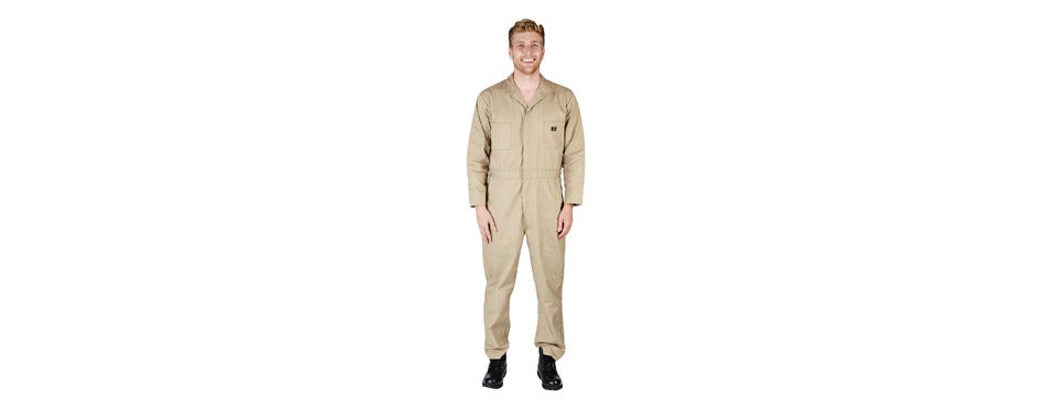 NATURAL WORKWEAR Basic Blended Work Coverall