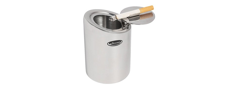 Newness Focus On Stainless Steel Car Ashtray