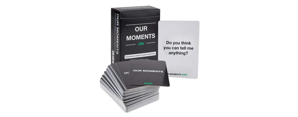 OUR MOMENTS Kids: Conversation Starters for Great Relationships