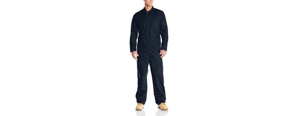 Red Kap Men's Long Sleeve Back Coverall