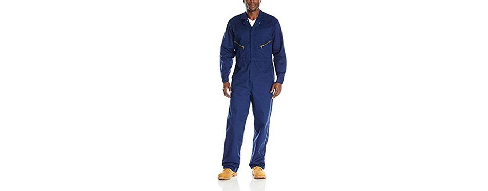 Red Kap Men's Zip Front Cotton Coverall