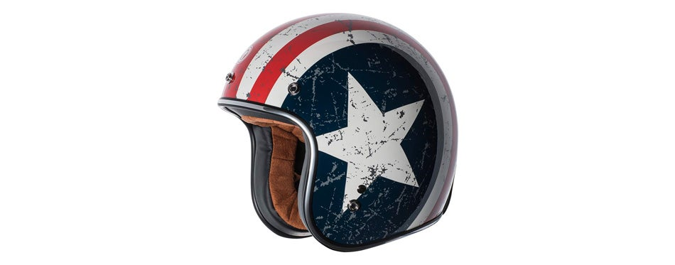 TORC Helmet with 'Rebel Star' Graphic