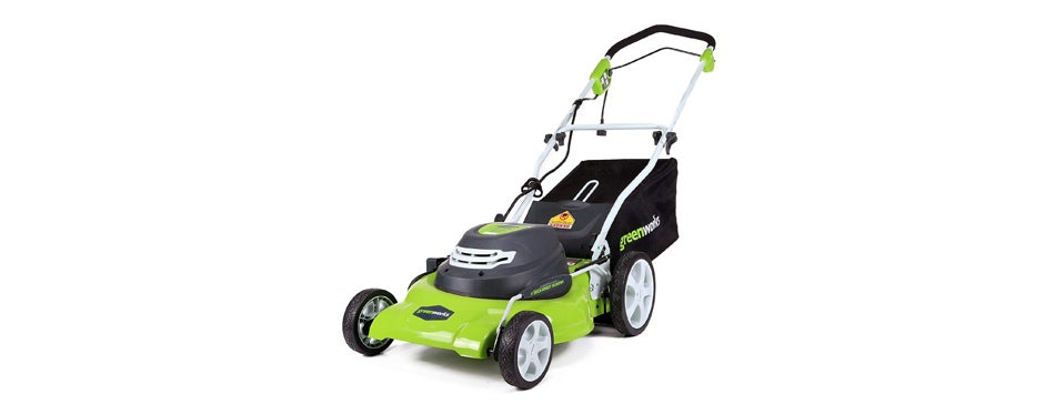 green works electric lawn mower