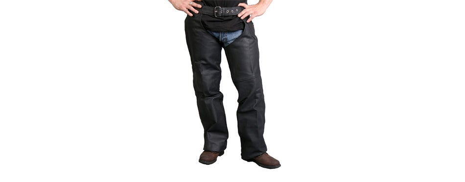 Hot Leathers Unisex Leather Chaps