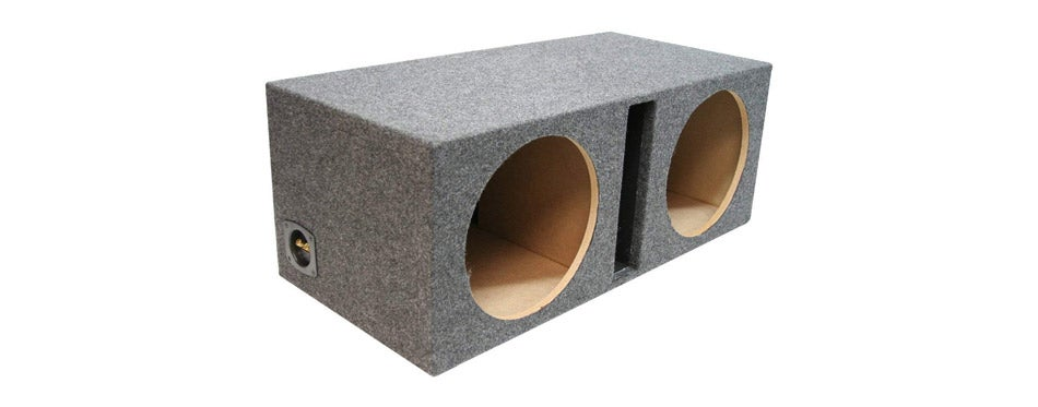 American Sound Connection Dual Subwoofer Sub Box