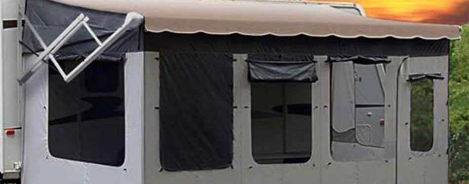 Carefree Vacation'r Screen Room RV Awning