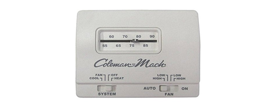 Coleman Rv Camper Manual Thermostat