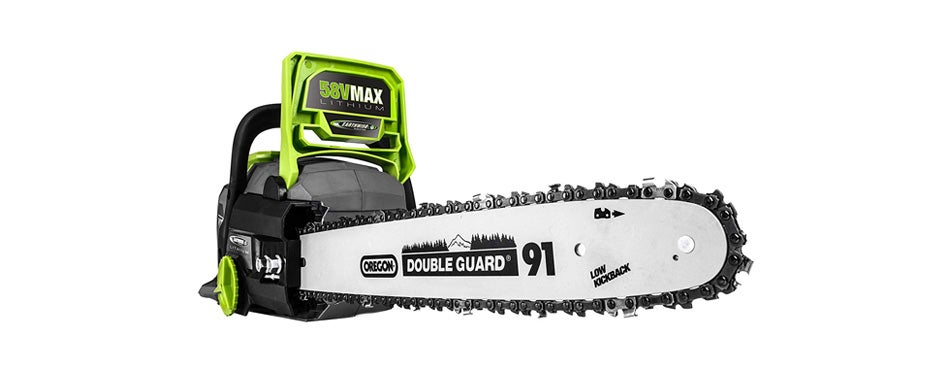 Earthwise Cordless Chainsaw