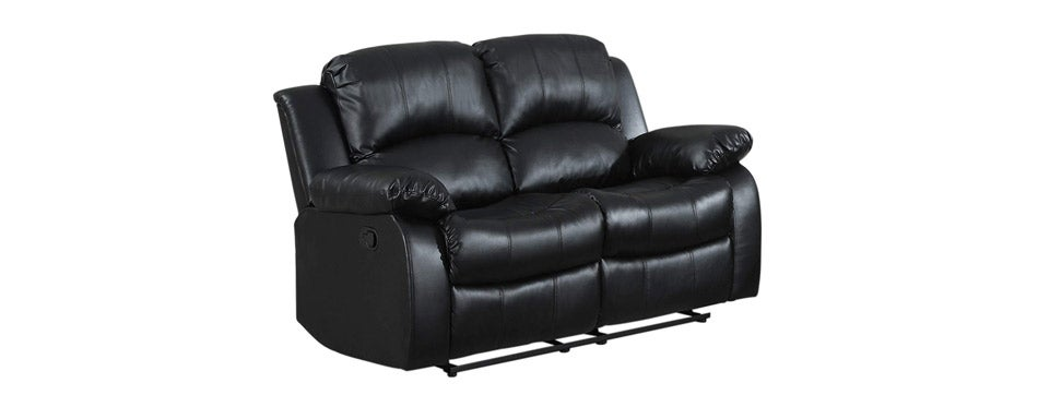 Homelegance Leather Double Reclining