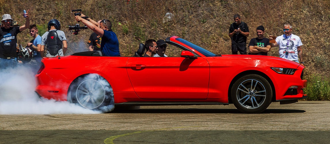 How To Do a Burnout in an Automatic Car