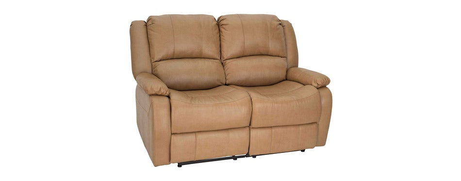 RecPro Charles Collection Double Recliner RV Sofa
