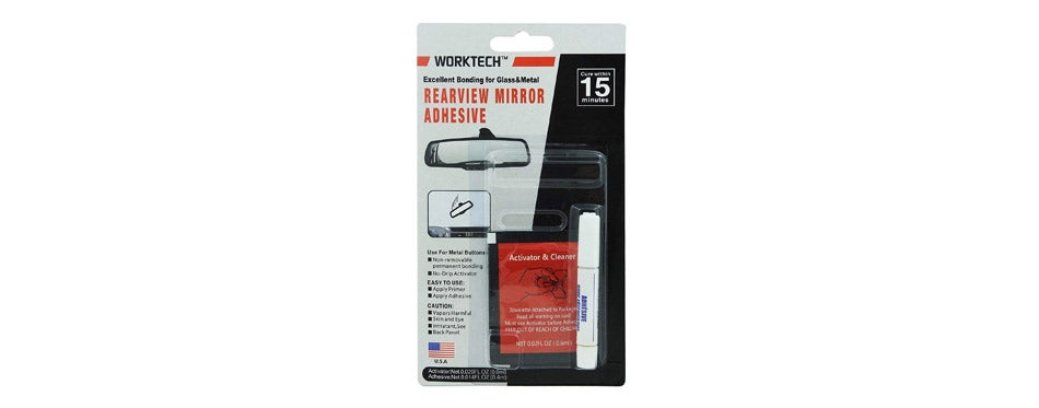 WORKTECH Adhesives and Sealants Professional Rearview Mirror Repair