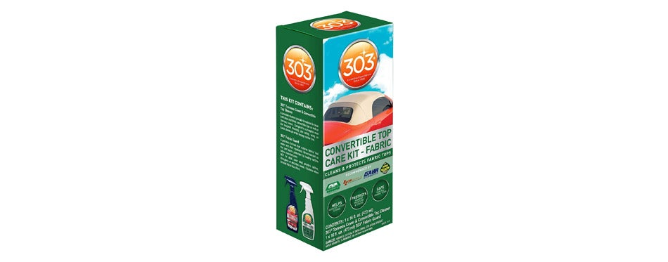 303 Products Convertible Fabric Top Cleaning and Care Kit