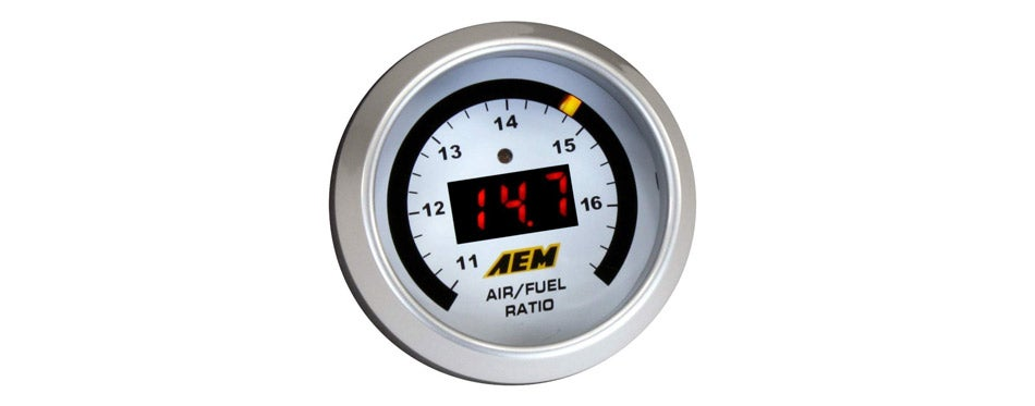 AEM UEGO Air/Fuel Ratio Gauge