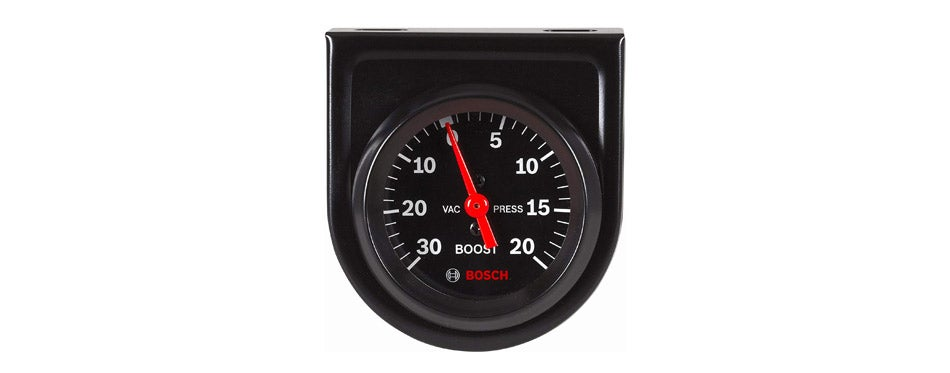 Bosch Style Line Mechanical Vacuum/Boost Gauge