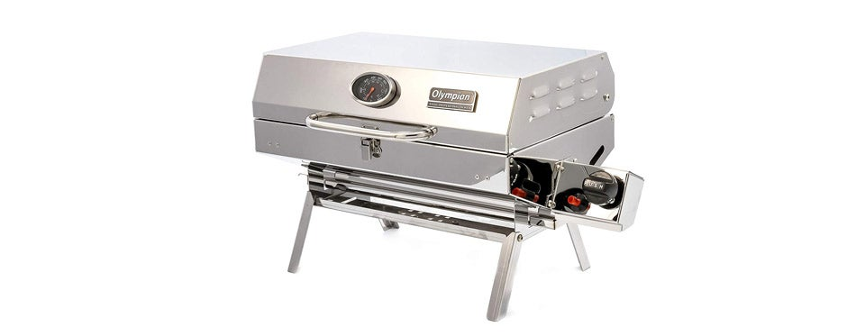 Camco Stainless Steel Portable Rv Grill