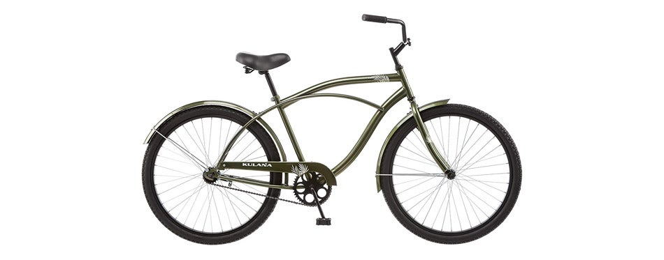Kulana Cruiser Bike with Steel Step-Over Frame