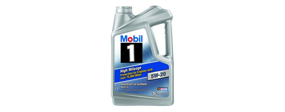 Mobil 1 High Mileage 5W-20 Motor Oil