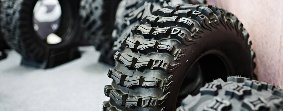 New tire for ATV